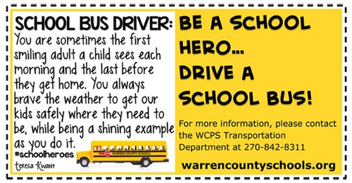 WCPS Hiring in Transportation Department - Lost River Elementary