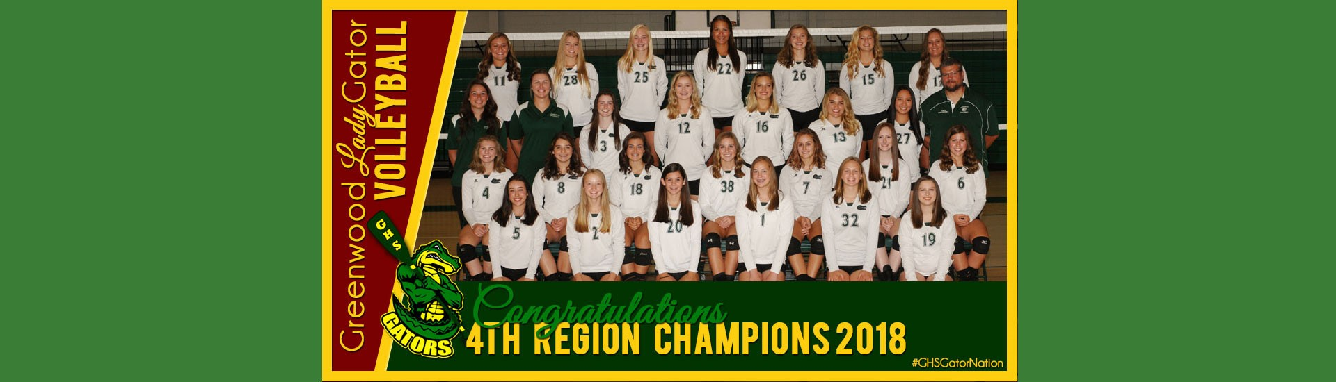 volleyball 4th Region champions
